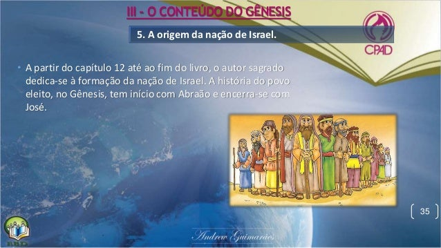 Lição 1 - gênesis, o livro da criação - 4ª Trimestre de 2015