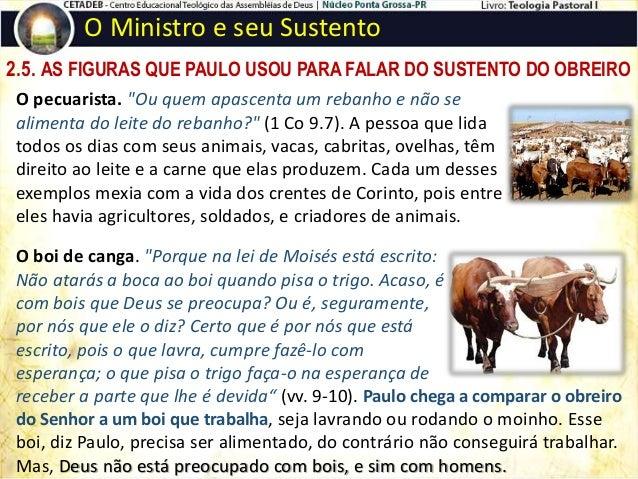 """2.6. PAULO E A DIMENSÃO DA FÉ O Ministro e seu Sustento Paulo afirmou: """"Tudo posso naquele que me fortalece"""" (Fp 4.13). """"E..."""