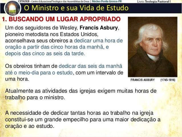 O Ministro e sua Vida de Estudo Os livros não estão em ordem cronológica como aparecem nas Bíblias. Por exemplo, o livro d...