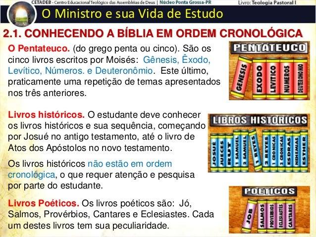 O Ministro e sua Vida de Estudo 3. EXERCITANDO-SE NA PALAVRA DE DEUS  ESTUDANDO COM OBJETIVIDADE: Requer-se de todo estud...