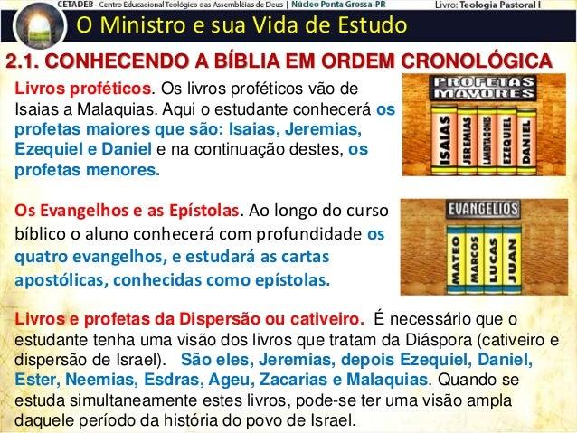 O Ministro e sua Vida de Estudo 3. EXERCITANDO-SE NA PALAVRA DE DEUS  COMPARANDO TEXTO COM TEXTO. A Bíblia, palavra de De...