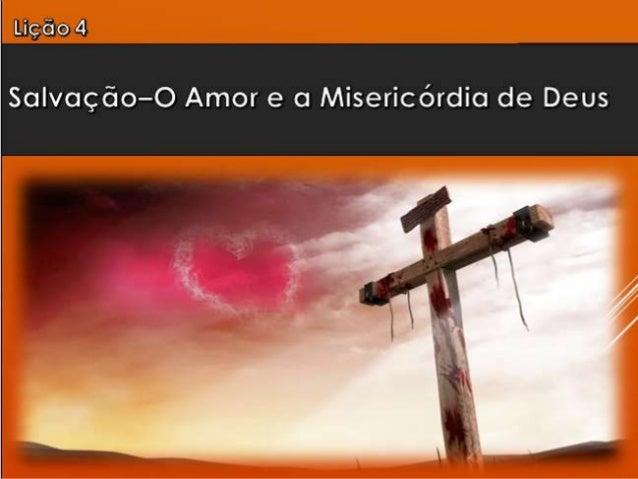 1. Deus é amor.