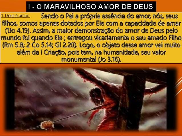 3. Amor como serviço diaconal.