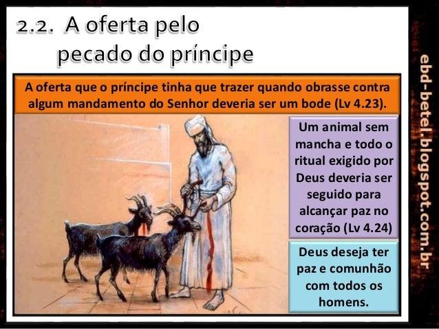 Lição 05 - O Sacrifício pelo Pecado