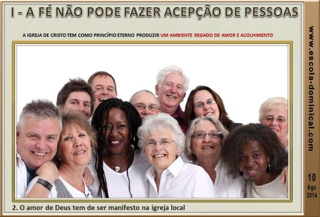 ACESSE O NOSSO SITE www.escola-dominical.com Produção dos slides Ev. Ismael Pereira de Oliveira & Lourinaldo Serafim