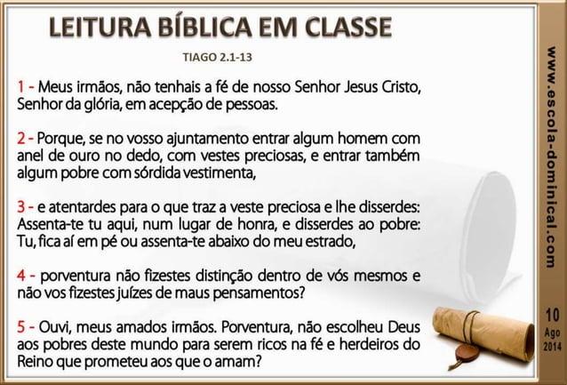 """3. Não sejamos perversos (v.4). A expressão """"juízes de maus pensamentos"""" aplicada no texto bíblico para qualificar os que ..."""