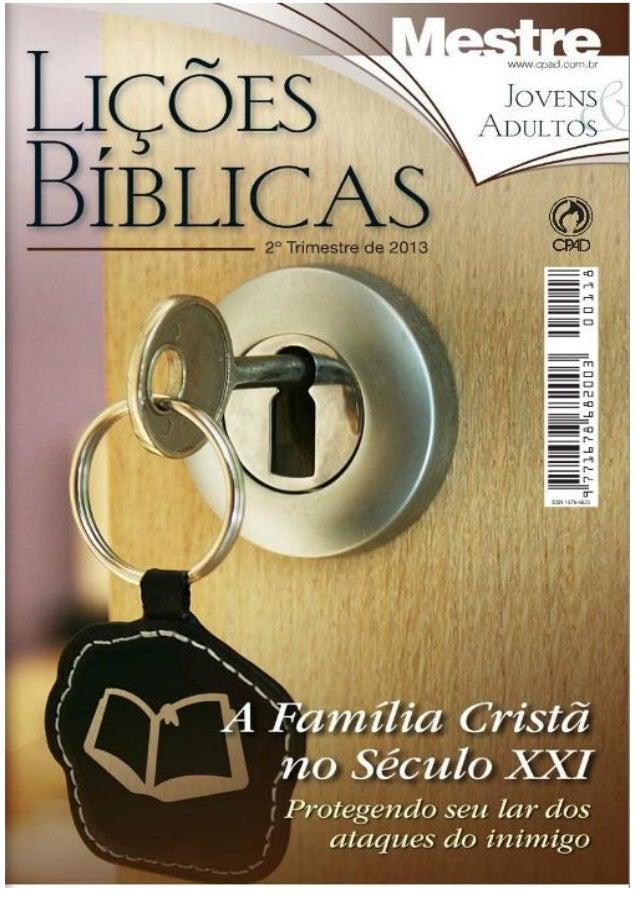 Liçoes 2 tri 2013 capa