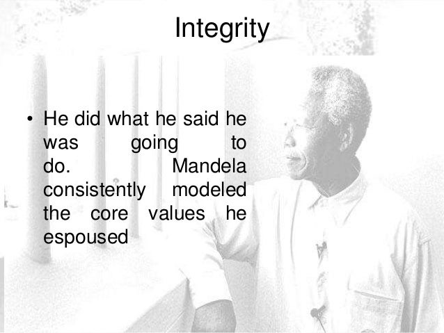 an analysis of the leadership style of nelson mandela Nelson mandela nelson mandela is an african american leader who fought for the rights of his people through trials and tribulations he stood his ground and kept on fighting nelson was a born leader and utilized his talents at an early age.