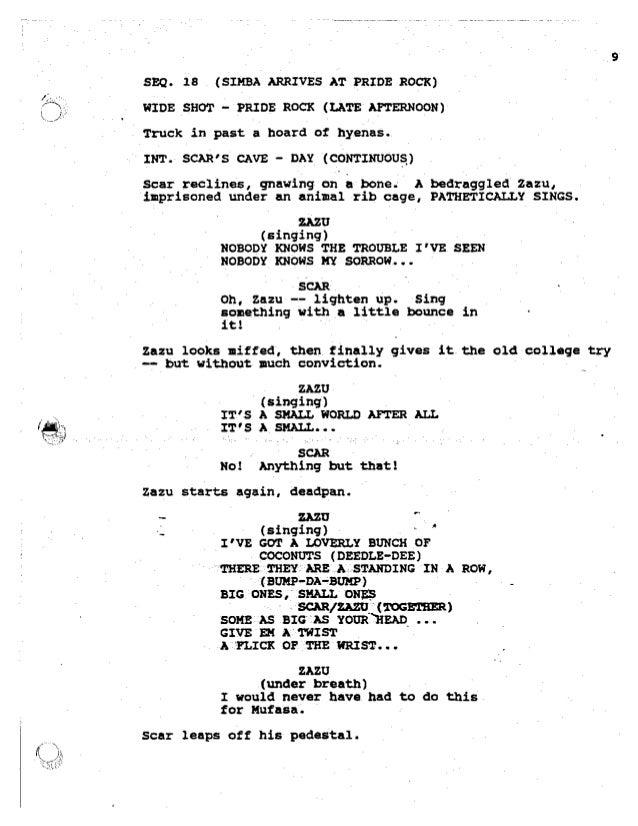 lion king  script