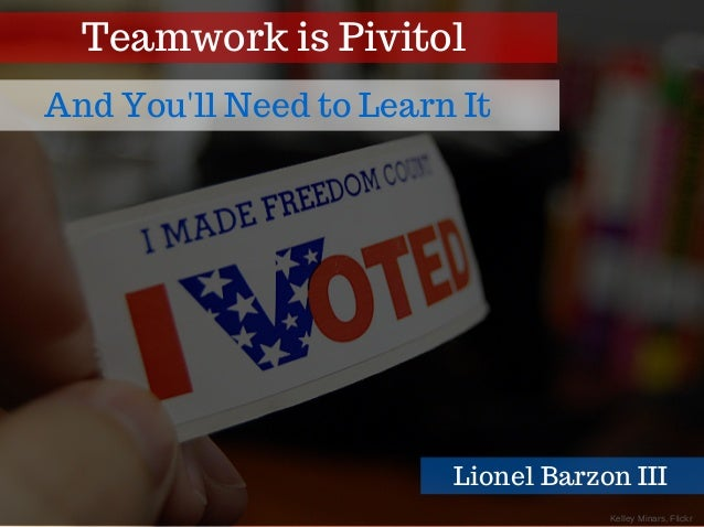 KelleyMinars,Flickr Teamwork is Pivitol And You'll Need to Learn It Lionel Barzon III