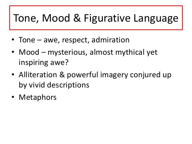 tone mood figurative language works hand Krakauer uses plenty of figurative language in set the mood for the chapter the use of figurative language in - into the wild by jon krakauer chris.