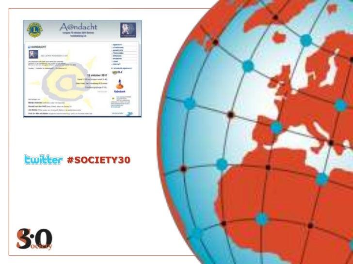 #SOCIETY30<br />