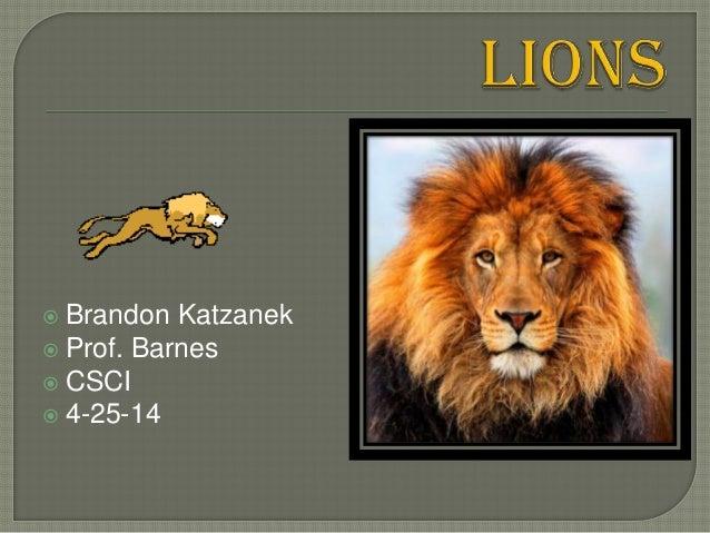  Brandon Katzanek  Prof. Barnes  CSCI  4-25-14