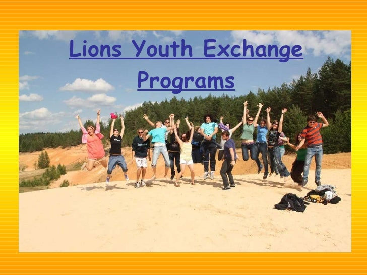 Lions Youth Exchange Programs