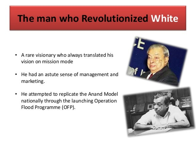 The man who Revolutionized White • A rare visionary who always translated his vision on mission mode • He had an astute se...