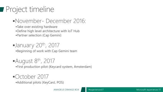 Microsoft experiences'17#experiences17AMADEUS ORANGE BOX