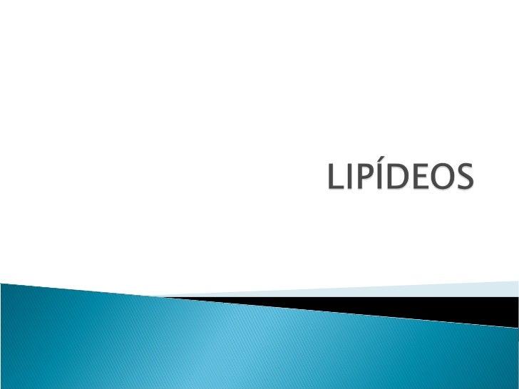 Os lipídeos definem um conjunto de substâncias químicas que, ao contrário dasoutras classes de compostos orgânicos, não sã...