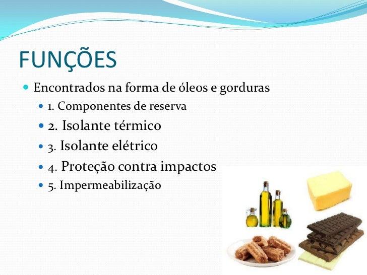 Produção de gorduras a partir de óleo