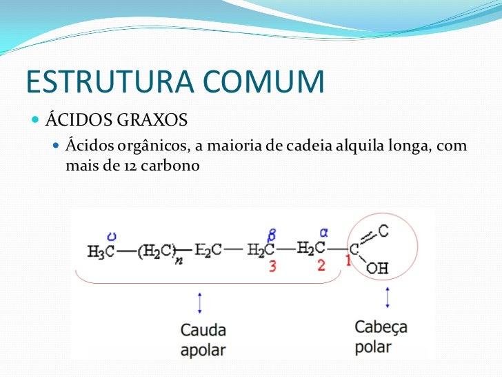 ÁCIDOS GRAXOS PODEM SER:    SATURADOS: Sem ligações duplas    INSATURADOS: Com ligações duplas