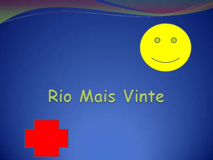 """Esse é o novosímbolo doprojeto""""Rio Mais Vinte"""""""