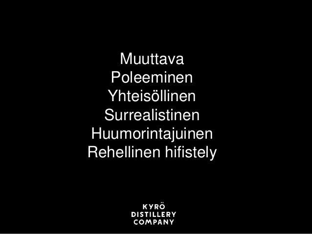 Suomen suurin yrittäjäristeily 23.–24.4.2016 Miika Lipiäinen: Kunnialliselta uralta alkoholin ja riskin maailmaan www.yrit...