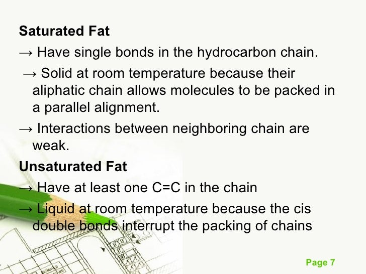Saturated Fat Always Solid At Room Temperature
