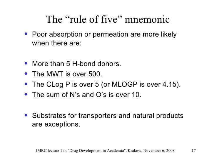 Lipinski Jmrc Lecture1 Nov2008