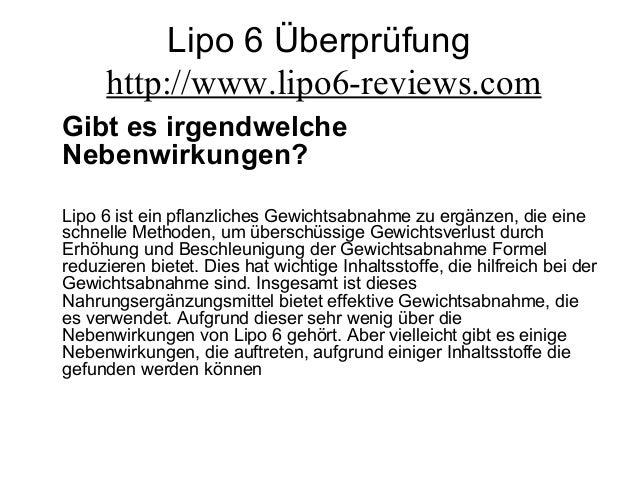 Lipo 6 Überprüfung http://www.lipo6-reviews.com Gibt es irgendwelche Nebenwirkungen? Lipo 6 ist ein pflanzliches Gewichtsa...