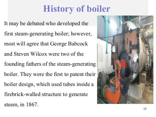 presentation report on steam boiler