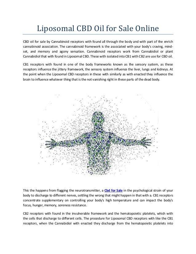 Liposomal Cbd Oil for Sale Online | Liposomal CBD