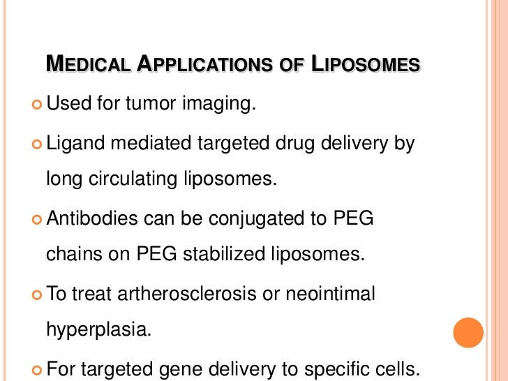 Preparation of targeted Liposomes<br />