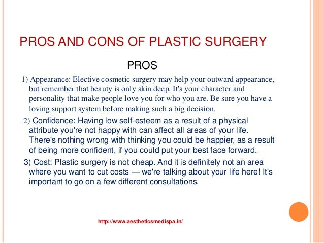 Against Plastic Surgery