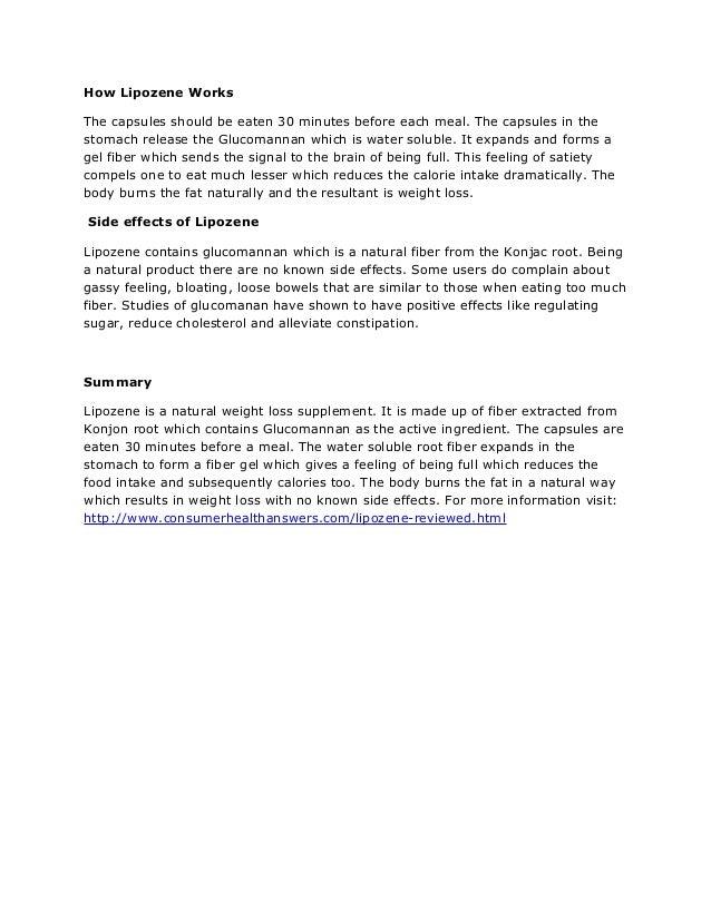 Lipozene Reviewed: Does Lipozene Work?