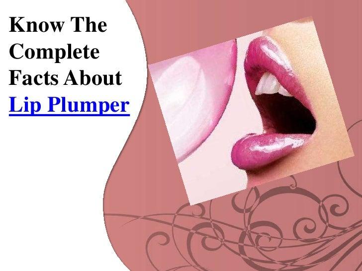 Lip Plumper Slide 2