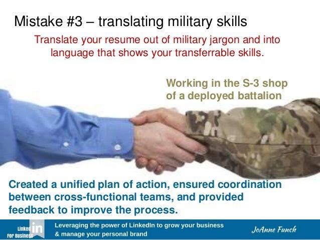 LinkedIn Tips for Veterans