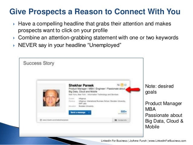linkedin for job seekers presented to  u0026quot you can get hired