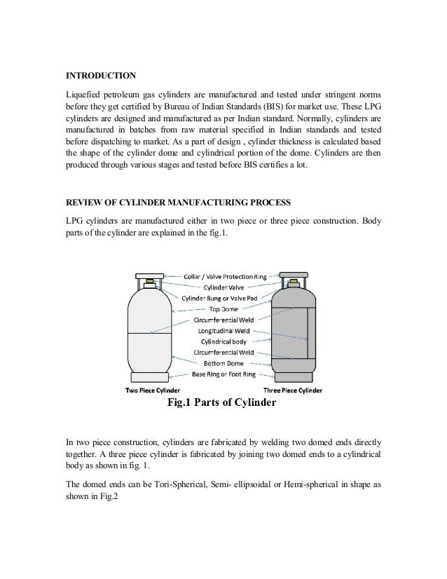 liquefied petroleum gas cylinder