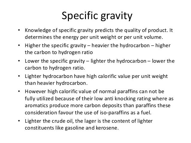 Specific Gravity Of Natural Gas Formula