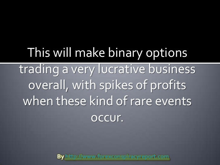 Binary option liquidity provider