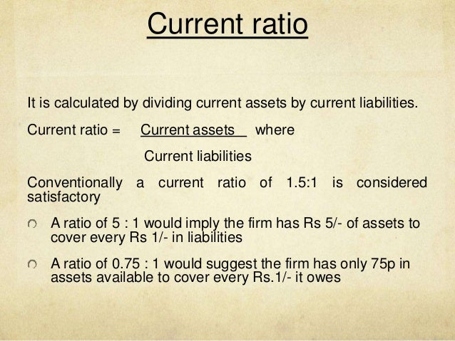 liquidity ratios Liquidity ratios: acid test ratio (aka quick ratio) what does acid-test ratio mean a stringent test that indicates whether a firm has enough short-term assets to.