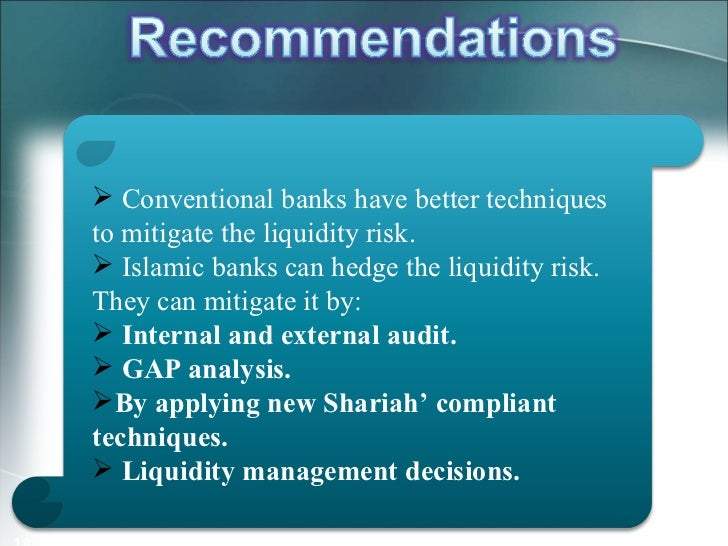 risk management in islamic vs conventional Request pdf on researchgate | risk management practices of conventional and islamic banks in bahrain | purpose - the purpose of this paper is to report empirical evidence regarding the risk.