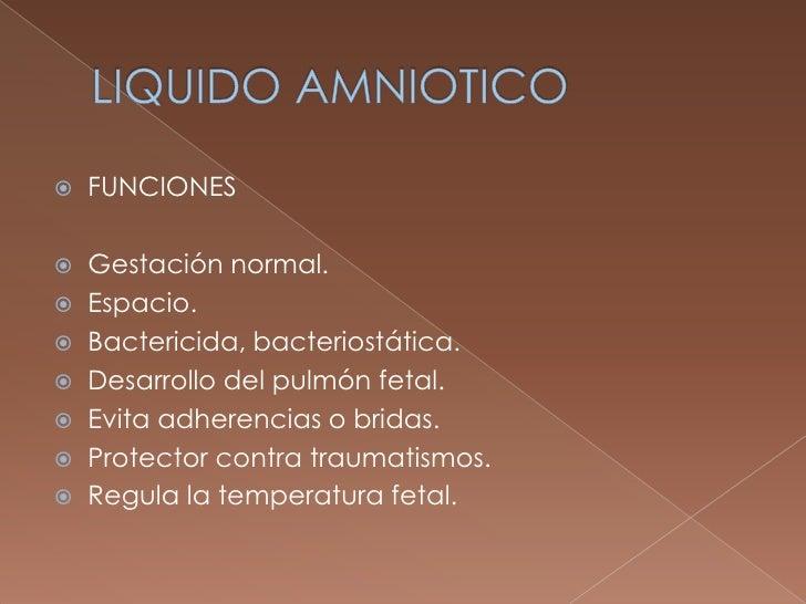 Liquido amniotico Slide 3