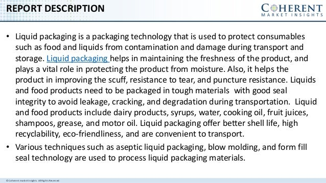 LIQUID PACKAGING MARKET - GLOBAL INDUSTRY INSIGHTS, TRENDS, OUTLOOK, AND OPPORTUNITY ANALYSIS, 2016–2024 Slide 2
