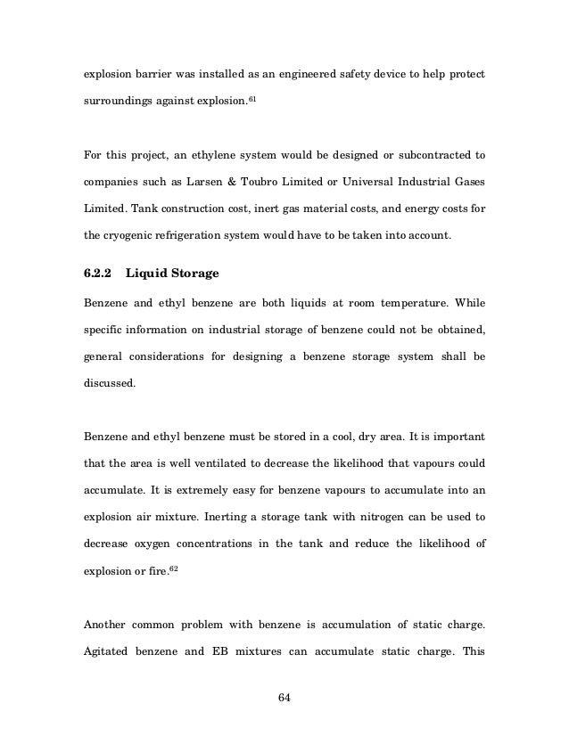 Liquid phase alkylation of benzene with-ethylene