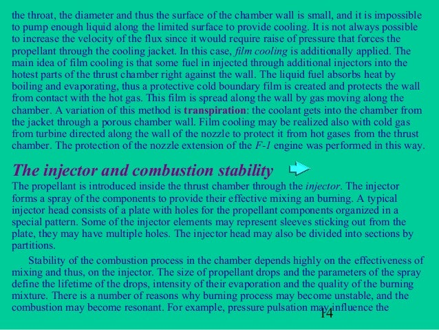 the throat, the diameter and thus the surface of the chamber wall is small, and it is impossibleto pump enough liquid alon...