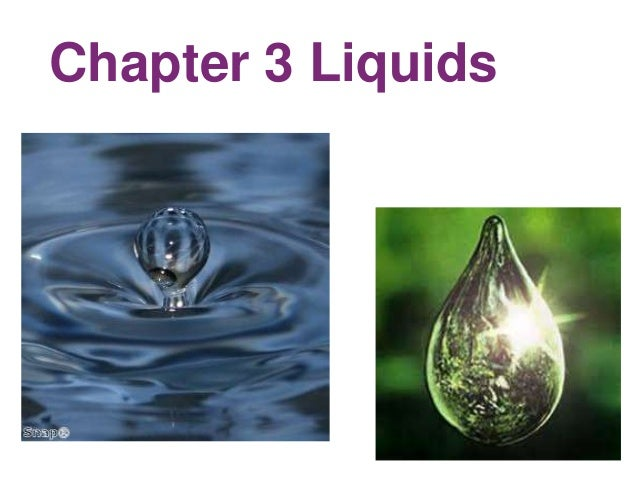 Section 14.1 Chapter 3 LiquidsIntermolecular Forces and Phase Changes