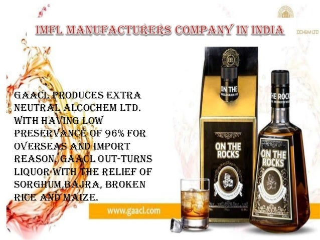 liquor industry in India   Top alcohol brands in india