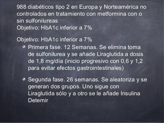 Liraglutida con insulina basal
