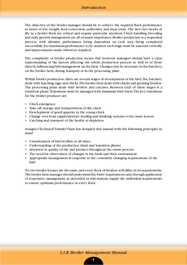 L I R  Broiler Management Manual (2009)