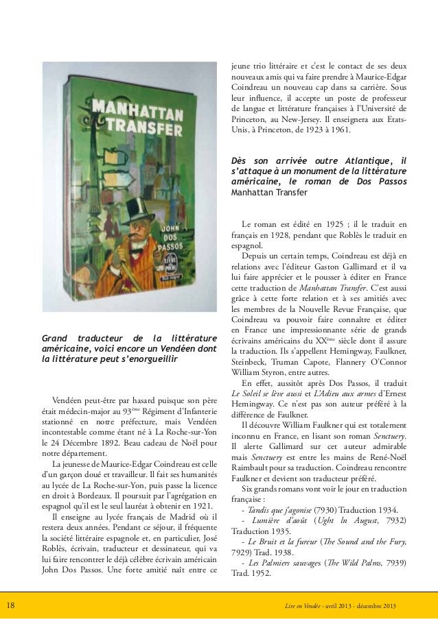 Lire en Vendée - avril 2013 - décembre 201318jeune trio littéraire et c'est le contact de ses deuxnouveaux amis qui va fai...